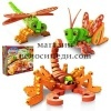 EVA 3D Puzzle BLOCO Scorpio and Insects
