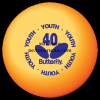 Топчета BUTTERFLY Youth Orange