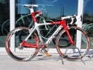 Road cycling VIVELO ERG White / Red